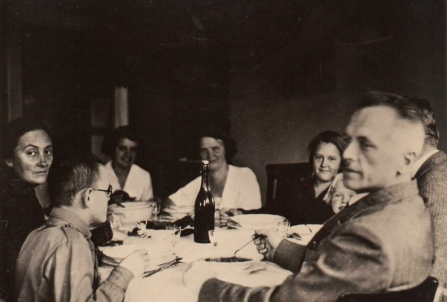Dinner, about 1932