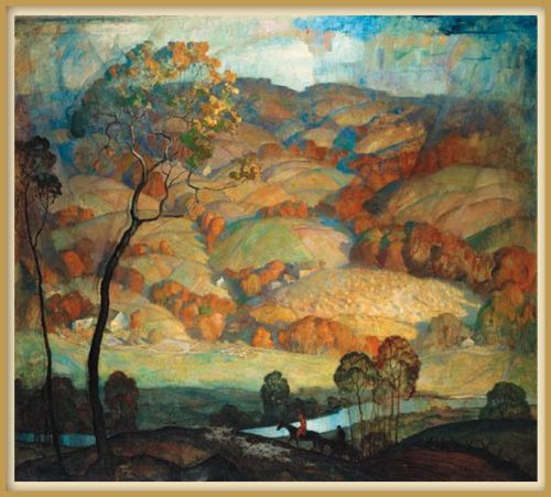 Image 3 Chad's Ford Lanscape_NC Wyeth