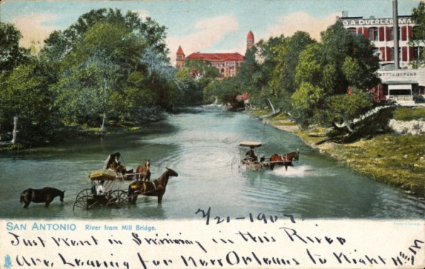 San_Antonio_River_from_Mill_Bridge
