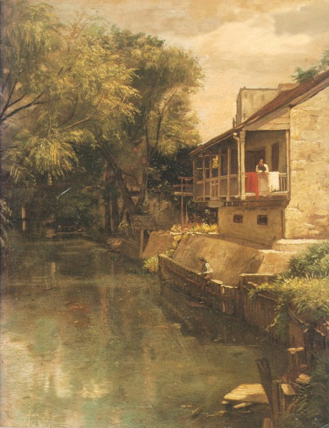 The San Antonio River in 1856