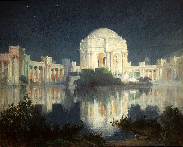Image 9 - Colin Campbell Cooper-Palace of Fine Arts, San Francisco