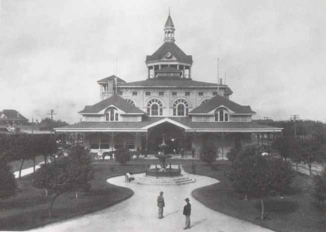 San Antonio Municipal Market House in 1900