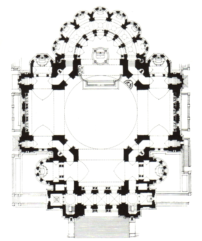 cathedral plan