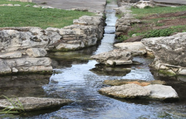 image 4- early acequia
