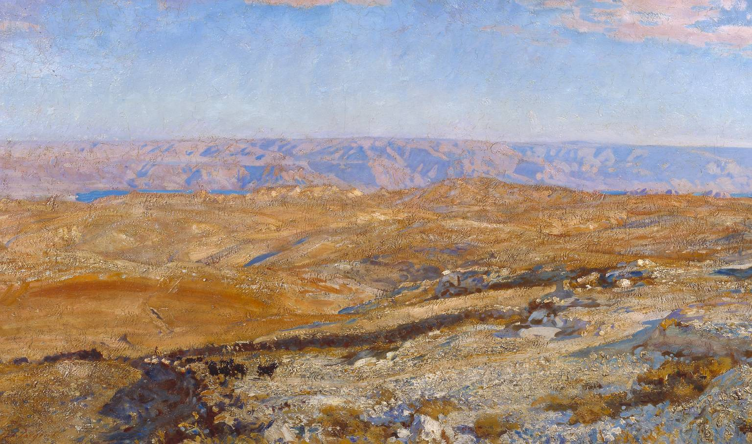 The Mountains of Moab 1905 John Singer Sargent 1856-1925 Presented by the heirs of Mrs Ormond 1957 http://www.tate.org.uk/art/work/T00124