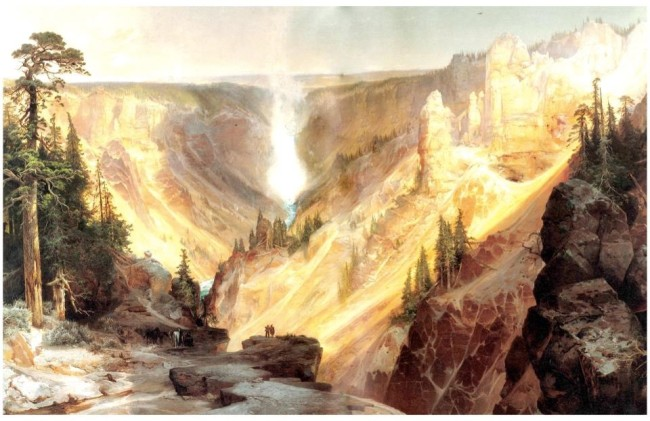 The Grand Canyon of the Yellowstone, Thomas Moran
