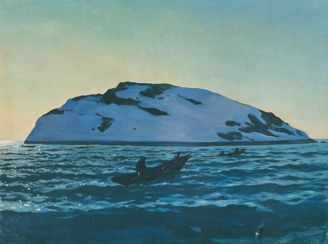 Rockwell Kent, Afternoon on the Sea, Mongegan, 1907