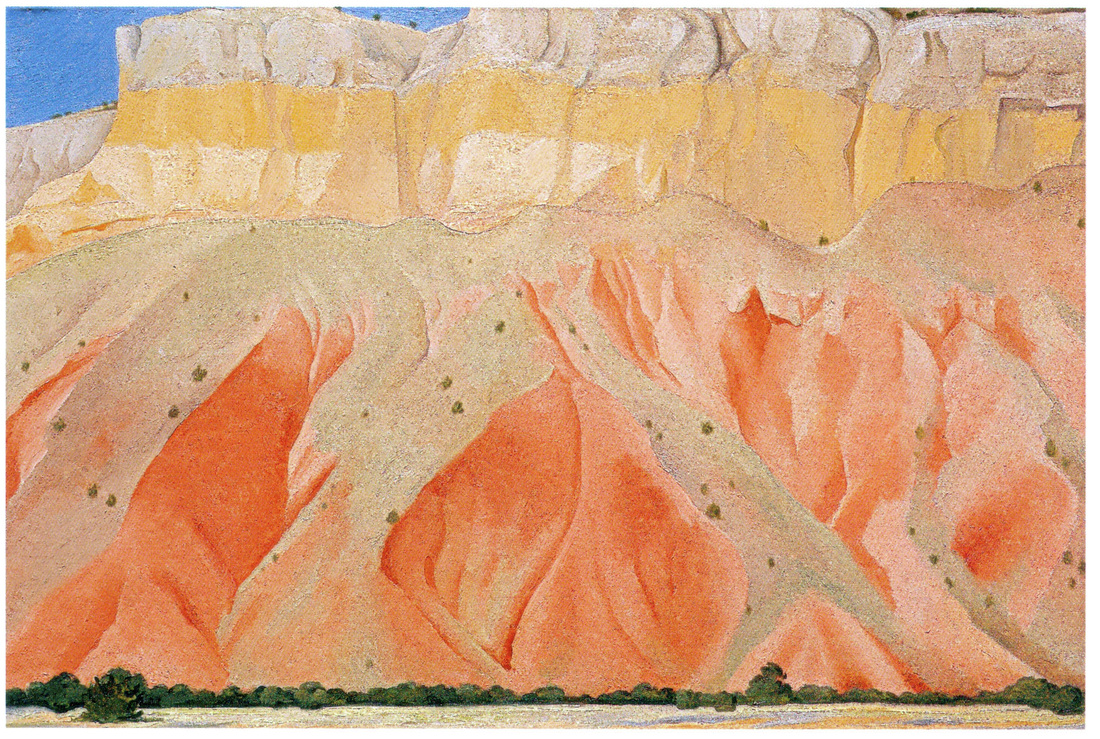 7. red and yellow cliffs