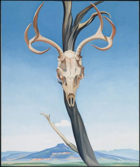 Deer's skull with Perdernal , 1936