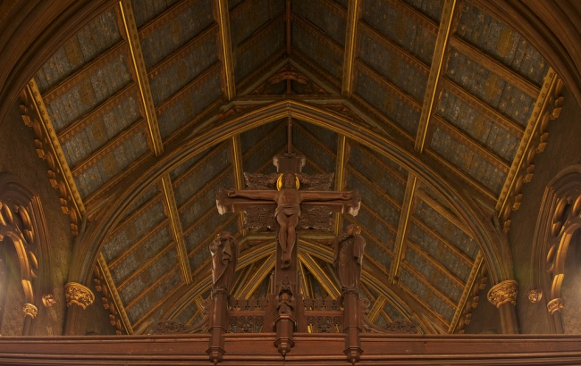 Image 18_Detail of ceiling trusses