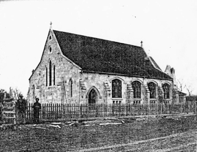 Image 21 - St. Mark's Episcopal Church, San Antonio, shortly after its completion in 1875