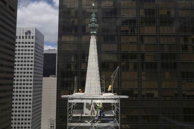 Image 7_the restored spire