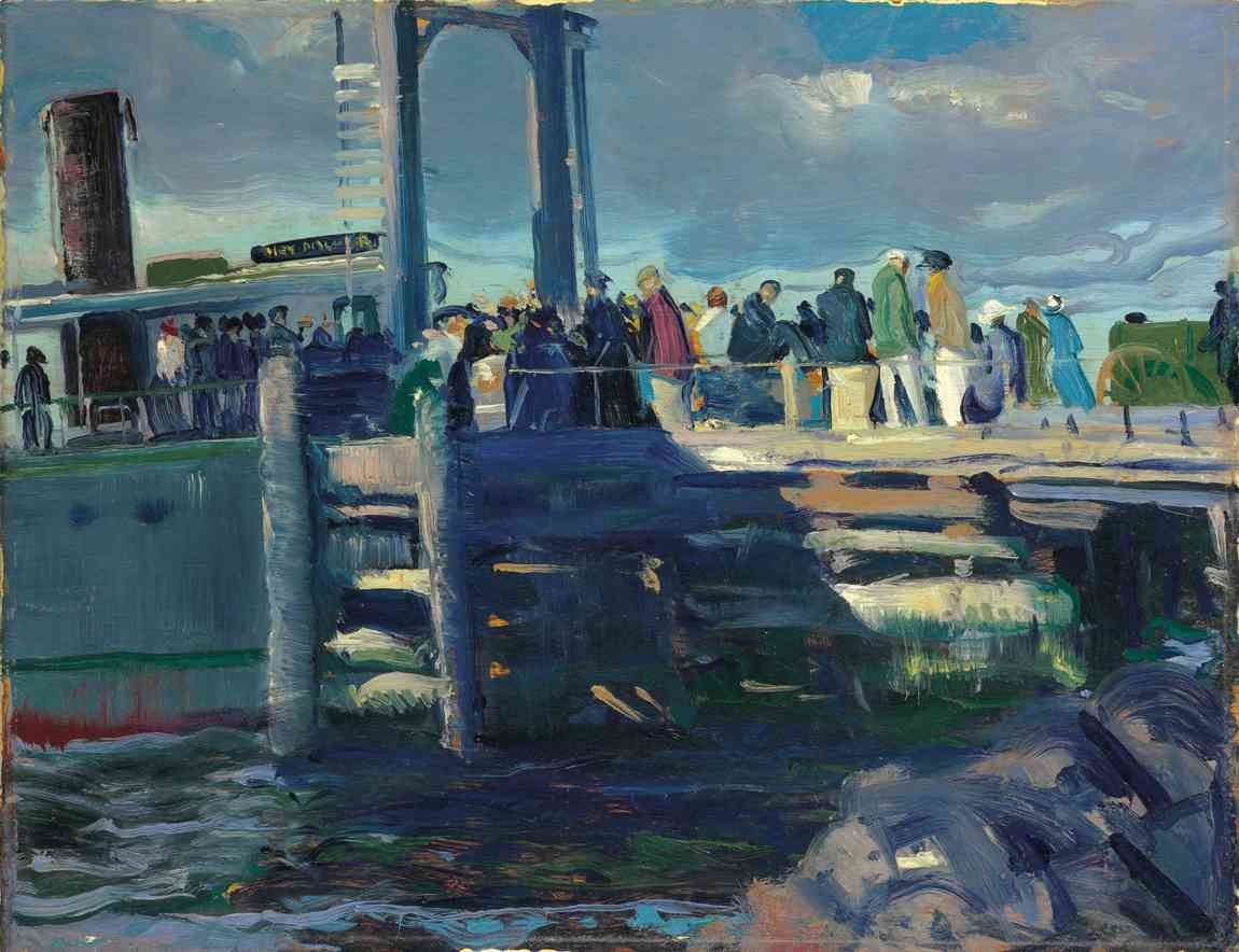 12-18-Christies-American-Art-GWBellows_The-Dock