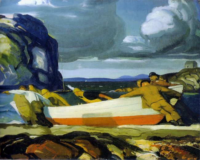 George_Bellows_-_The_Big_Dory_1913-600x480