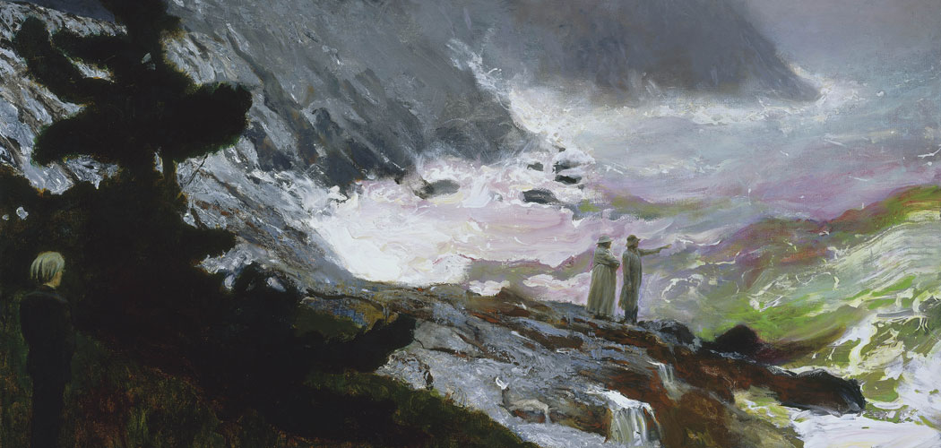 Jamie Wyeth's 2009 painting The Sea, Watched