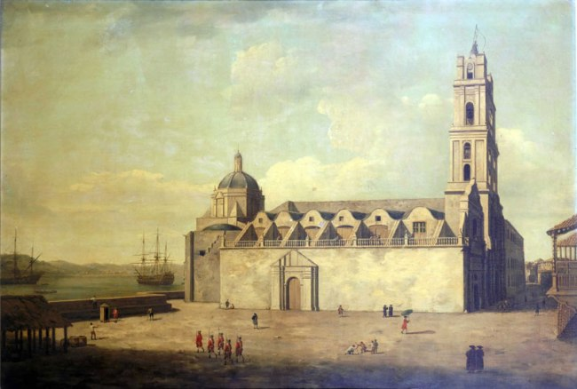 havana_cuba_dominic_serres_the_elder_-_the_cathedral_at_havana_august-september_1762_pd