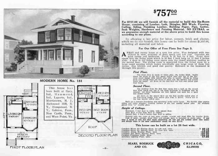 Quality in Quany: The Sears Mail-Order Home | At Home ... on napa home designs, wright home designs, elite home designs, linear home designs,
